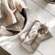 Geschirrtuch Tilda beige