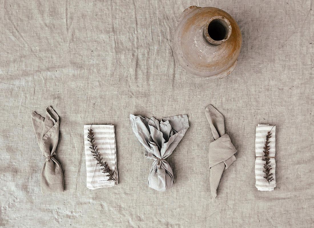 leinen-servietten-falten