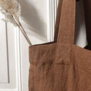 leinen-tasche-smilla-zimt-detail